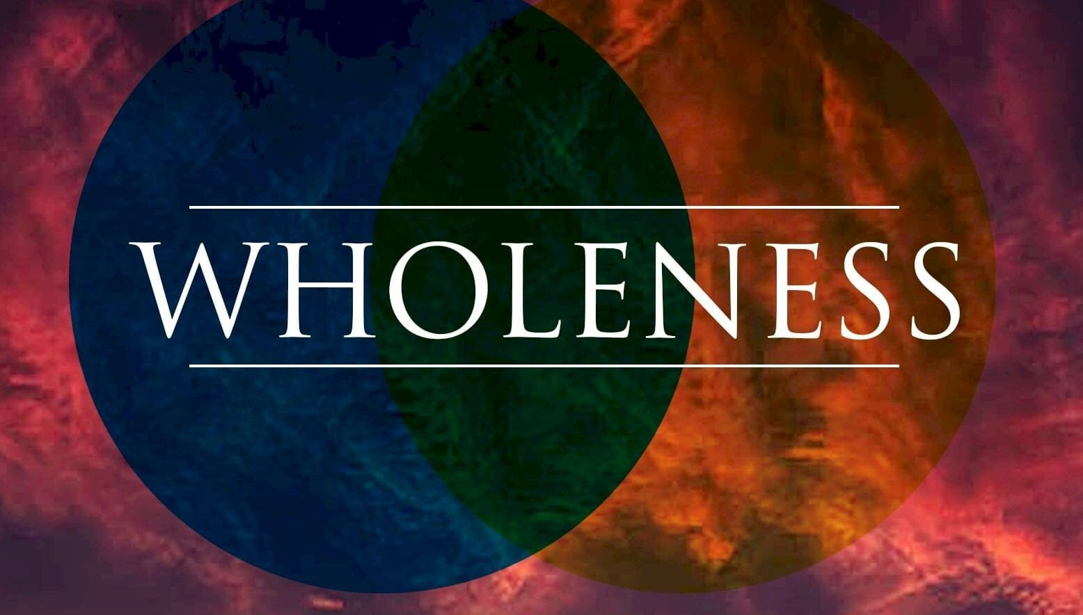 Buy Wholeness